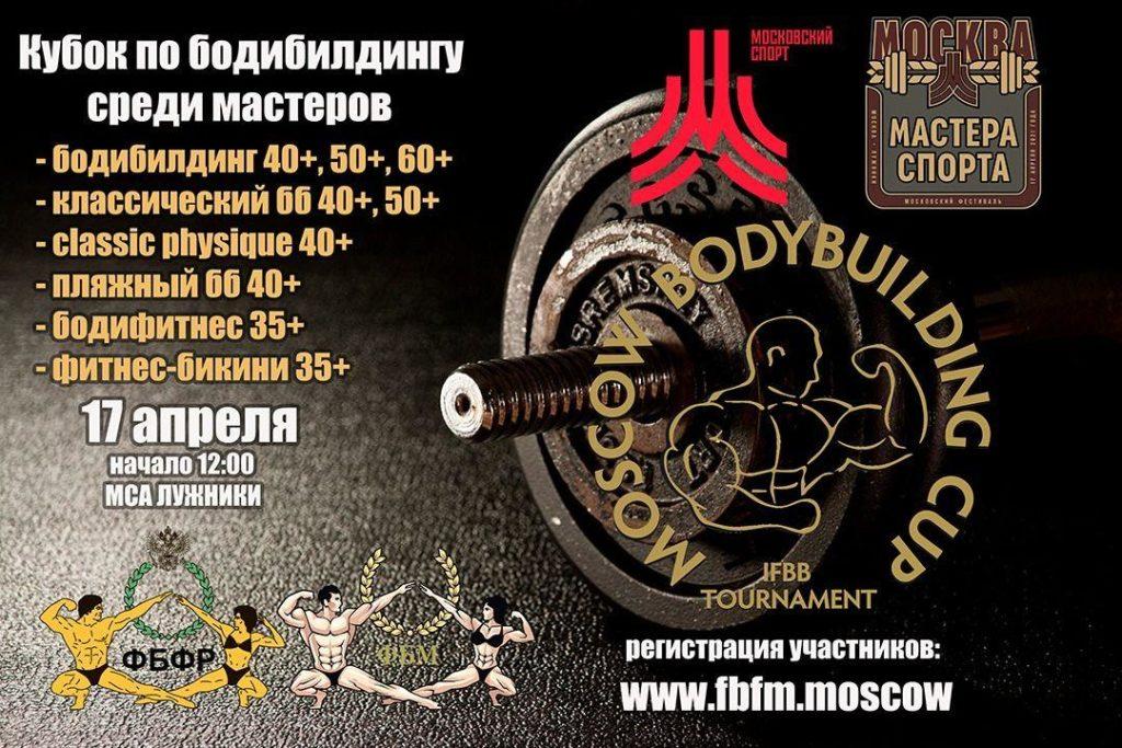 Кубок по бодибилдингу MOSCOW BODYBUILDING CUP MASTERS 2021